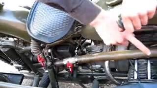 Мотоцикл на дровах (газогенератор)(Для людей интересующихся технической стороной доступна подробная статья http://oppozit.ru/article85319.html P.S. Музыка..., 2013-06-28T11:01:14.000Z)