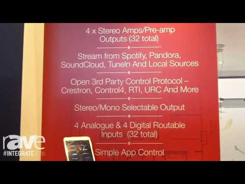 Integrate 2016: HEOS by Denon Demos 32 Zone of Audio with Heos Drive for Multiroom Audio