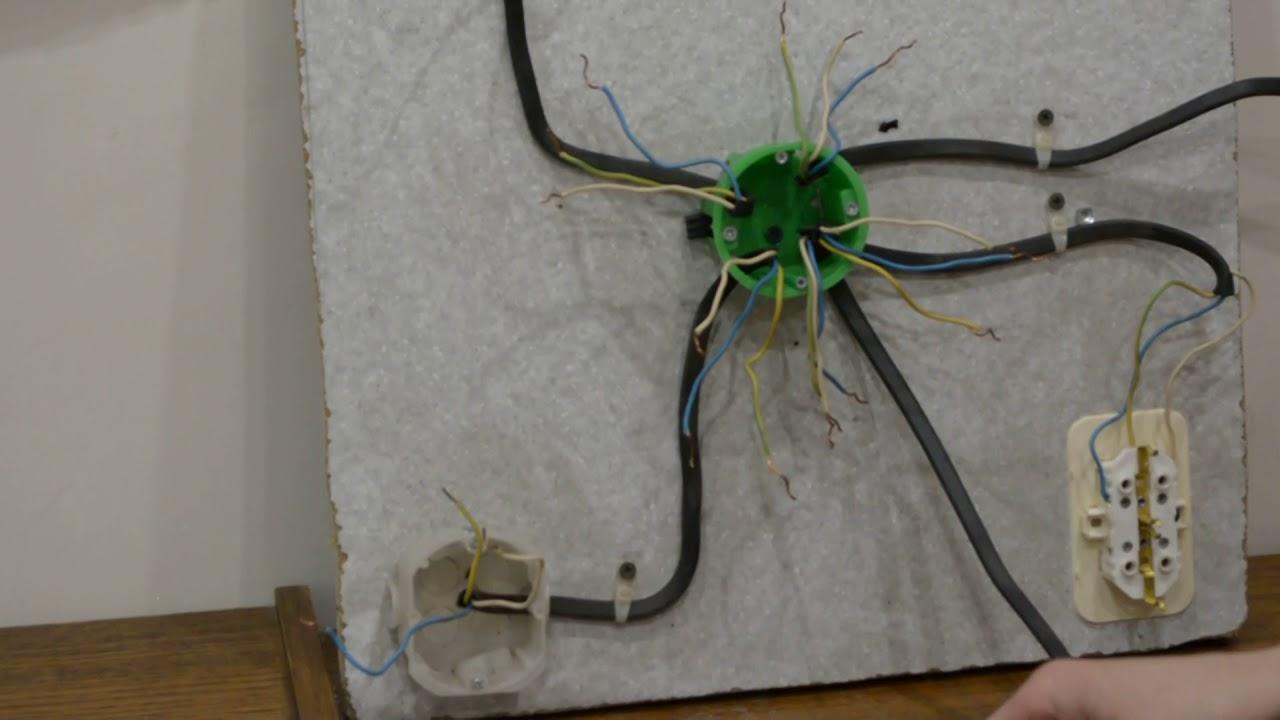 как разобраться в проводах в распределительной коробке