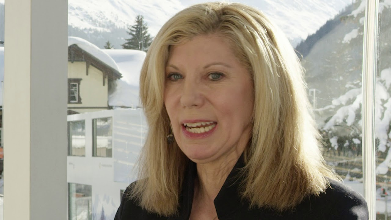 Hub Culture Davos 2019 - Barri Friedman Rafferty, President and CEO of Ketchum