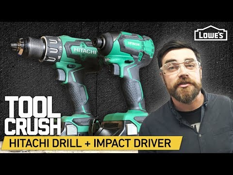 ToolCrush: Hitachi Cordless Drill + Impact Driver | Tool Review & Stress Test