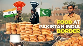 Street Food at Pak-India Border | Bulleh Shah ka Mazar | Famous Andarsay & Falooda | Pakistani Food
