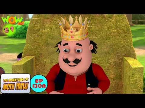 Motu The King Of Tribe - Motu Patlu in...