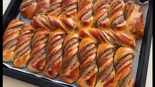 Bütün Püf Noktalarıyla Haşhaşlı Bükme Tarifi-Haşhaşlı Çörek Yapımı-Bera Tatlidunyasi