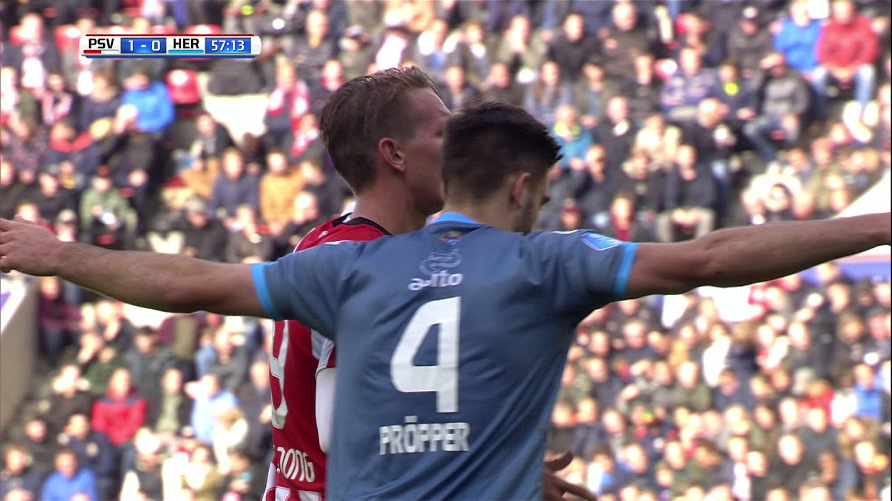 PSV - Heracles Almelo 3-0 | 22-10-2017 | Samenvatting