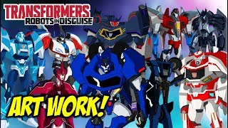 Transformers: Robots In Disguise Character Art Revealed