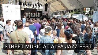 Street music at Alfa Jazz Festival 2017