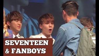~ Seventeen & Fanboys (Part 1) ~