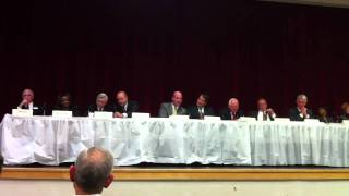 "Indiana General Assembly Legislative Forum ""Lightning Round"" Question #1"
