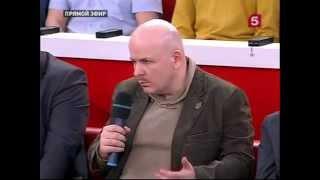 Донбасс.  Год войны.  Олесь Бузина в передаче Открытая Студия