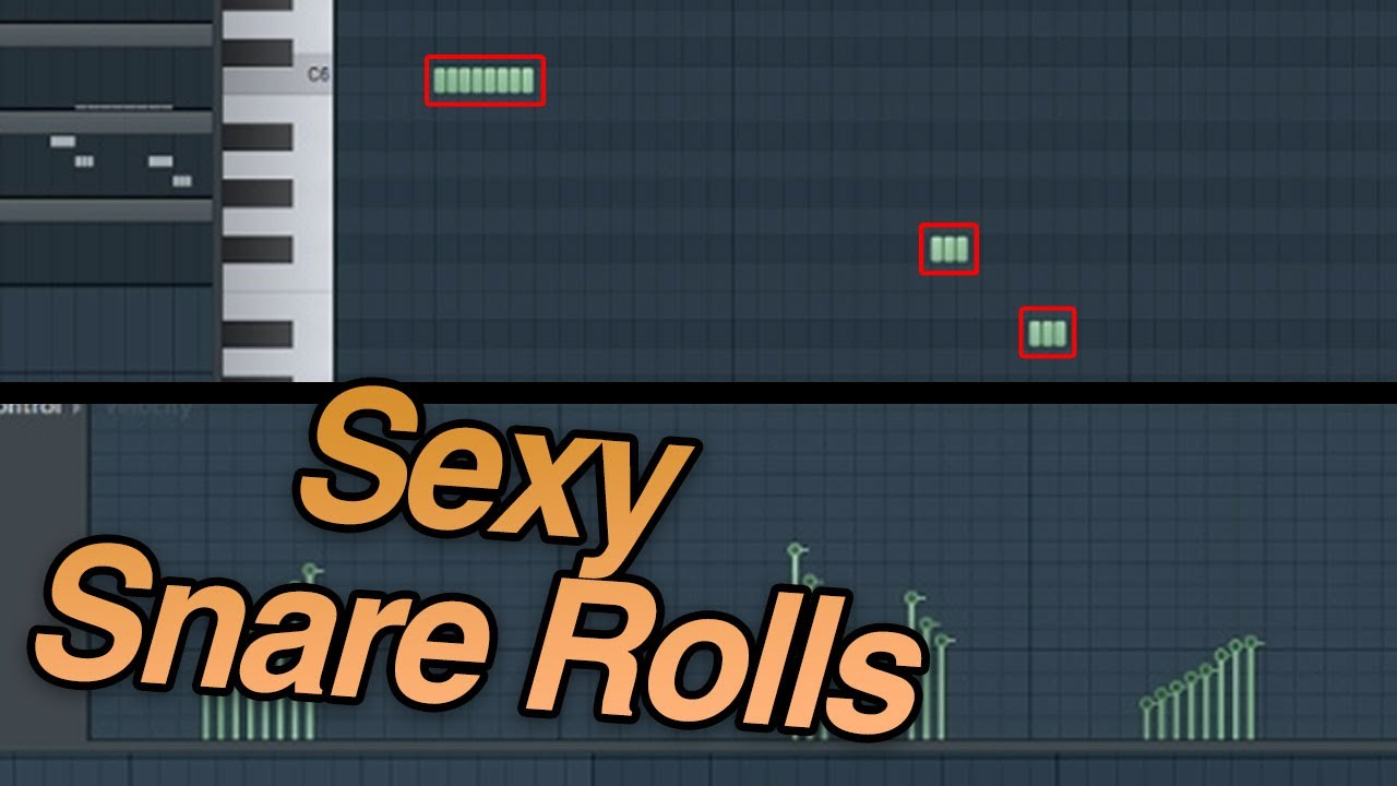 How To Make Trap Snare Rolls In Fl Studio 20 Youtube