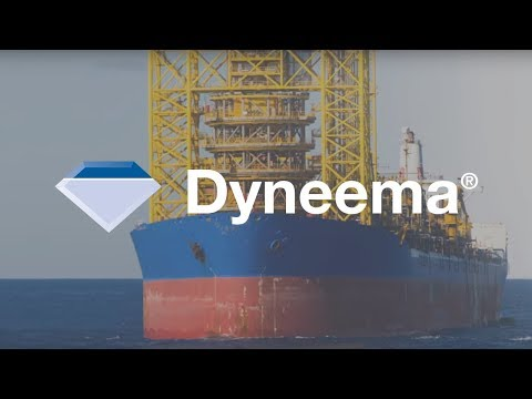 Mooring at Maximum Depth.  Dyneema® Max Technology.