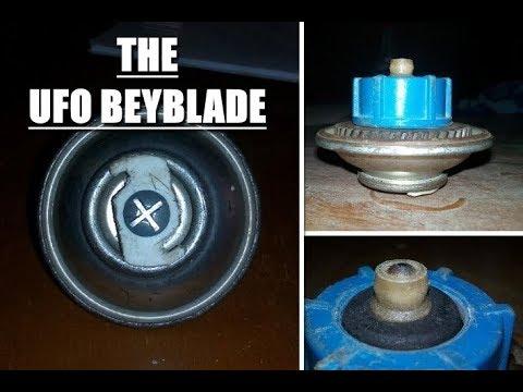The UFO beyblade ?!!? ''Chaotic UFO'' the weirdest custom/homemade beyblade ever