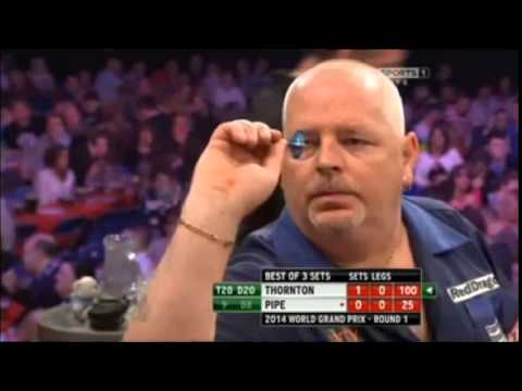 THORNTON vs PIPE - World Grand Prix Darts 2014 - First Round