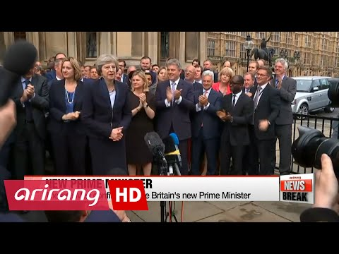 ARIRANG NEWS BREAK 10:00 Theresa May to become British prime minister on Wednesday