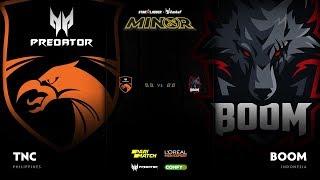 TNC Predator vs BOOM Esports Game 3 - SL ImbaTV D2 Minor S3 SEA Qualifier: Semifinals