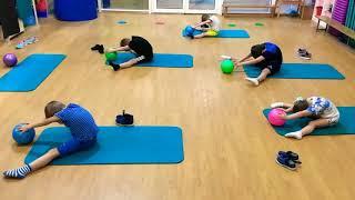 Детский фитнес. Оздоровительные занятия.
