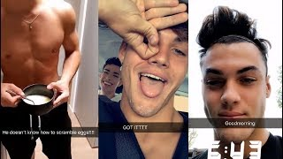Grayson Dolan IG & SnapChat stories (Aug 8th - Sept 10th 2018)
