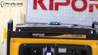 видео Бензиновый генератор Kipor KGE6500C