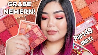 PHP149 SQUAD COSMETICS MINI EYESHADOW PALETTES REVIEW + SWATCHES! KAYANIN MO! | Bing Castro