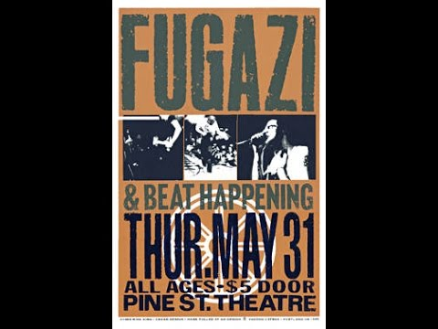 Beat Happening, Pine St. Theater, Portland, OR May 31, 1990