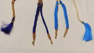 Silk Thread Jewellery Making DIY | Handmade Jewellery