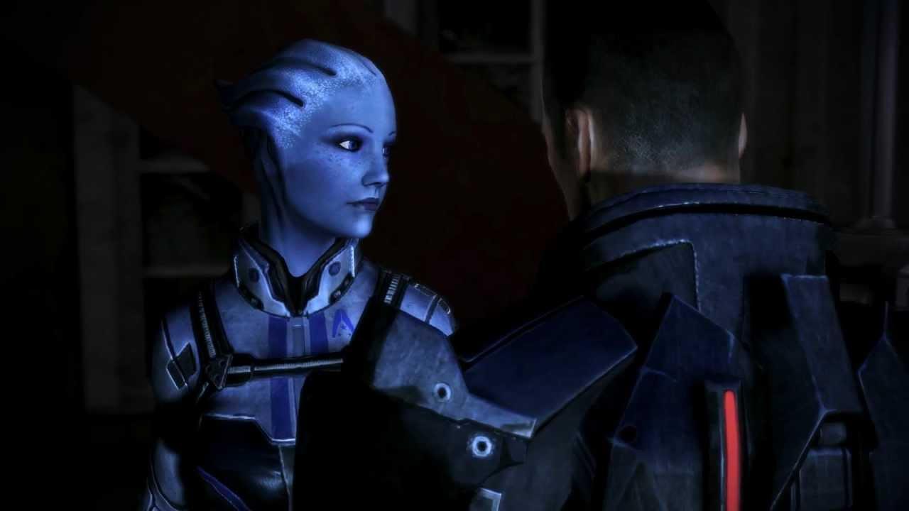 Mass Effect 3: Liara & M!Shep Romance #18: Goodbye