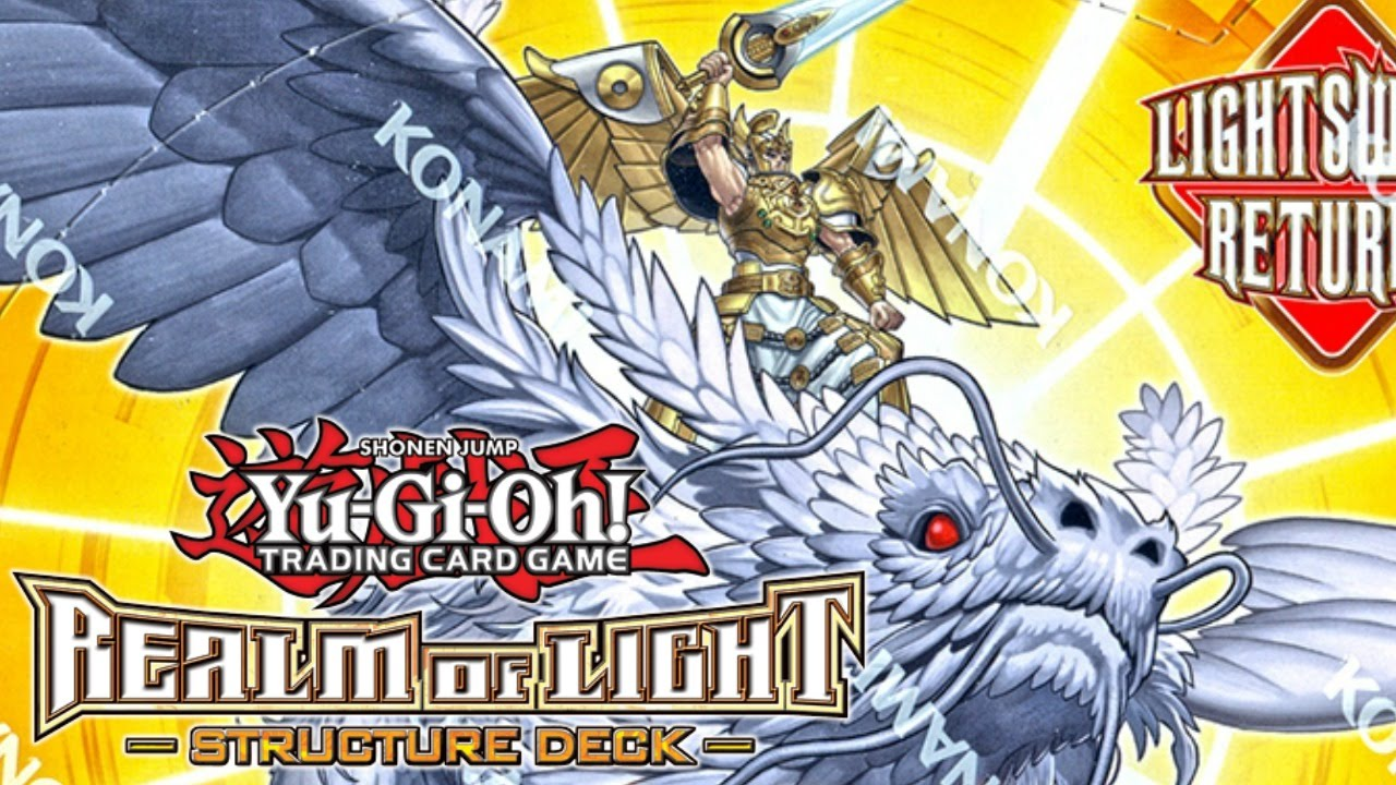 Yugioh Realm of Light Structure Deck Opening