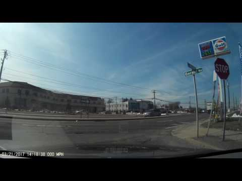 DRIVING TEST IN HICKSVILLE NY 3.21.17 1/4