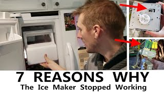 Ice Maker Stopped Working  |  No Water