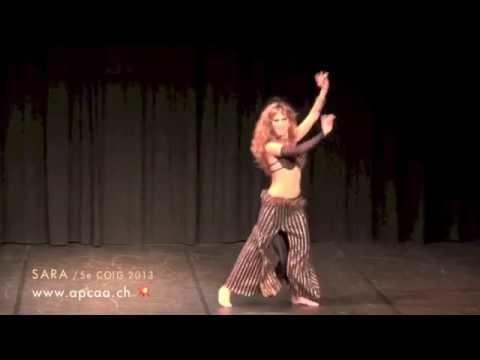 Sara Guirado - 5ème Cabaret Oriental International de Genève/Switzerland