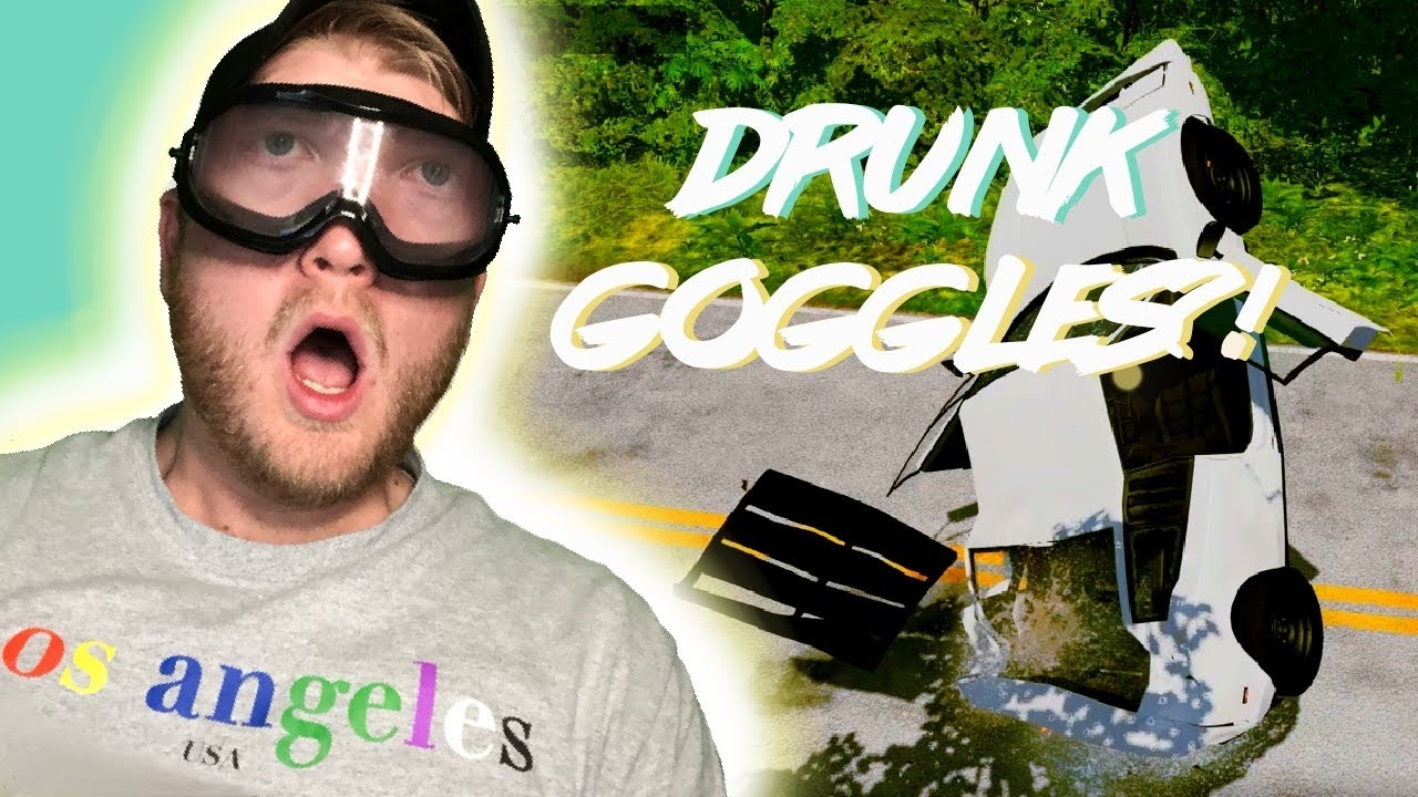 EPIC OFF ROAD DRIVING A SUPERCAR WHILE WEARING DRUNK GOGGLES – BeamNG.Drive