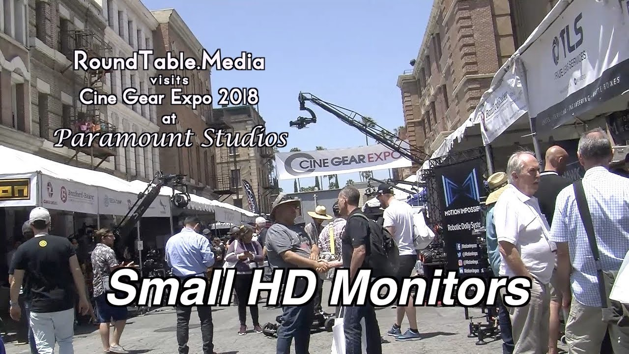 CineGear '18 Small HD Monitors