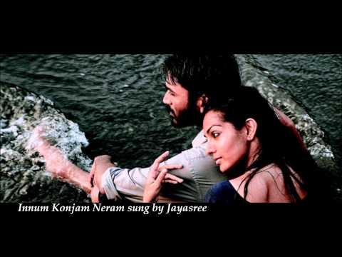 Innum Konjam Neram Tamil song from the movie Maryan sung by Jayasree