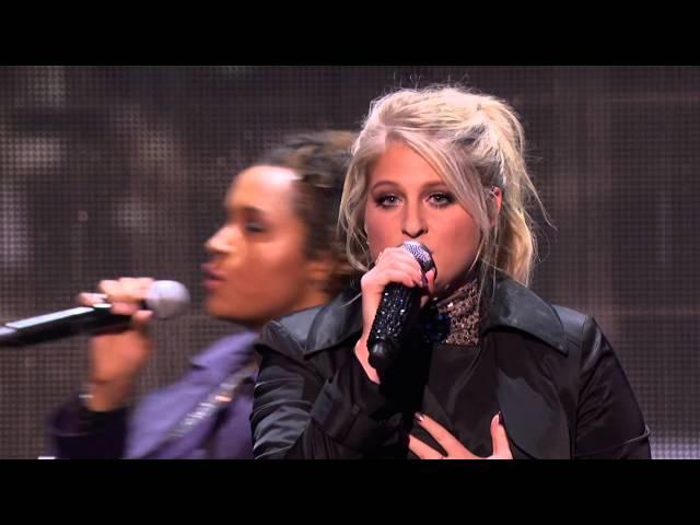 Meghan Trainor & Charlie Puth  - Marvin Gaye & Like I'm Gonna Lose You (AMAs 2015)