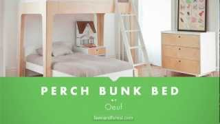 Oeuf Perch Bunk Bed Checkout The Perch Bunk Bed At Fawnandforest Com Youtube
