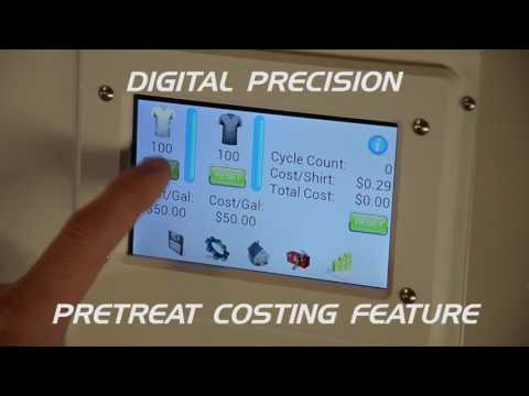 Pearl Elite DTG Pretreat Machine