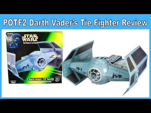Star Wars POTF2 Darth Vader's Tie Fighter Review