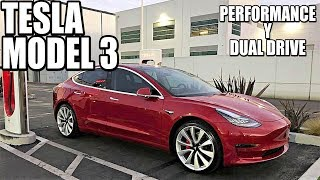Ya llegan los TESLA MODEL 3 Dual Drive y Performance