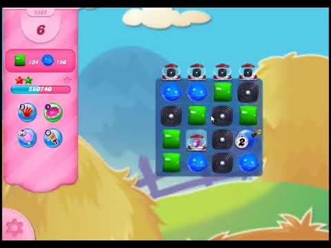 Candy Crush Saga Level 2882 - NO BOOSTERS