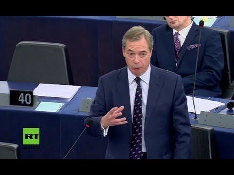 """Farage: """"Wie viele Abgeordnete hier im EU-Parlament haben Geld von George Soros erhalten?"""""""
