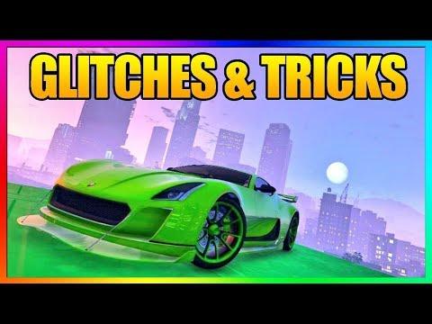 GTA 5 Online - 5 NEW GLITCHES & TRICKS Working After DOOMSDAY HEIST DLC 1.42