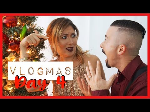 PHOTOGRAPHER DITCHES OUR HOLIDAY PHOTO SHOOT FOR OHIO!   Vlogmas Day 4