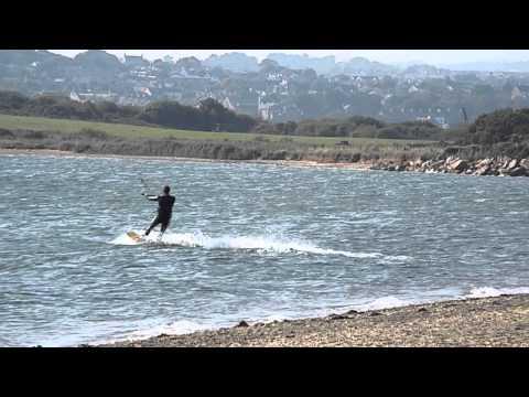 Kite surfing in Ardcavan, Wexford