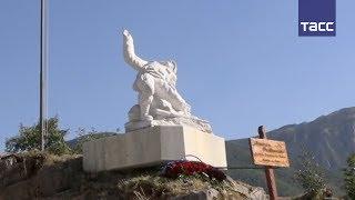 В Италии открыли памятник офицеру Прохоренко, погибшему в Сирии