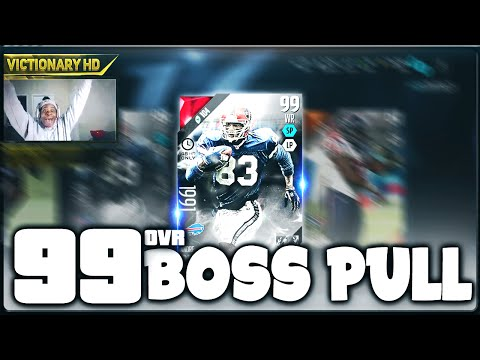 OMFG!! 99 OVERALL BOSS PULL AGAIN! BOSS NIGHT TRAIN LANE AND BOSS ANDRE REED PACK OPENING! Madden 16