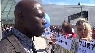 2018 London ExCel Protest - Saturday 11th August #3 - Jehovah's Witnesses  JW.org