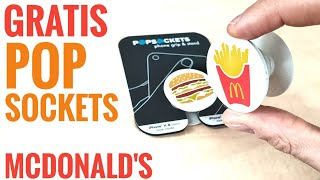 Gratis Pop Sockets Bei Mcdonalds - Kostenloser Überraschungs Deal Beim 32 Tage Oster Countdown