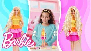Barbie Ultimate Curls Demo Video   Barbie
