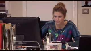 Hanne stort zich op haar werk   Familie   VTM